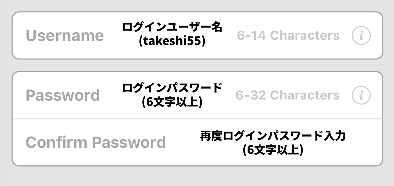 bet365のユーザー名とパスワードを登録